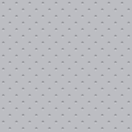 Seamless gray abstract background with lots of circles