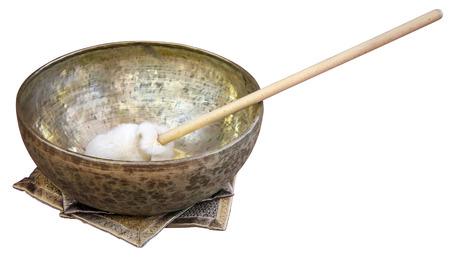 tibetian: Tibetian singing bowl used for therapeutic purposes