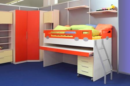 teen bedroom: Complete set of furniture for children