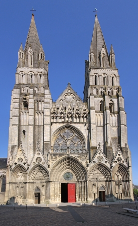 Cathedrale Notre-Dame de Bayeux, France, Normandy Stockfoto