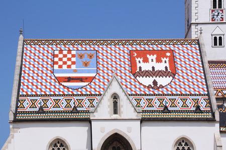 saint mark square: Roof of St  Mark