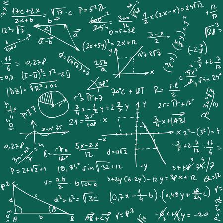 integral: Ilustraci�n del modelo Trigonometr�a como fondo del vector