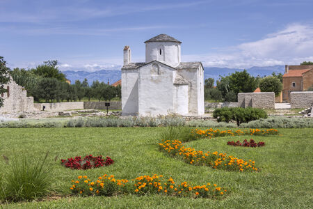 smallest: Nin, Croatia, The smallest cathedral in the world, church of the Holy cross in built in the 9th century