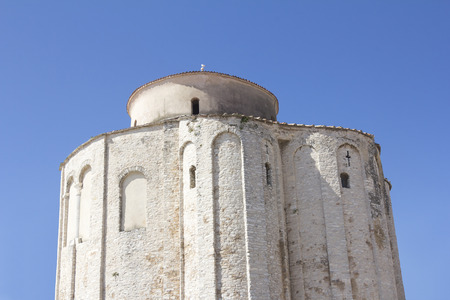 apses: Church of st. Donat, a monumental building from the 9th century in Zadar, Croatia