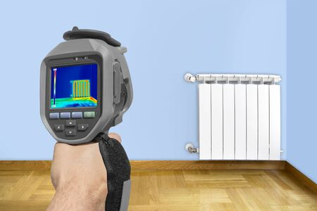 warmness: Recording Radiator Heater using Infrared Thermal Camera