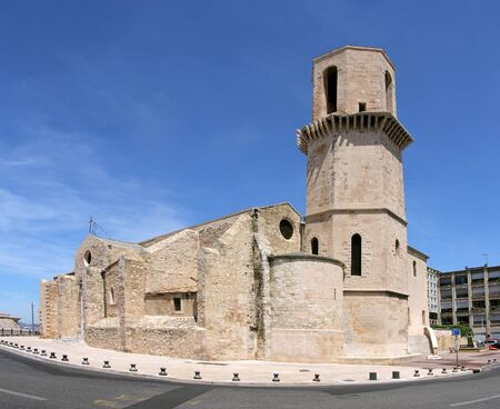 laurent: Historic church Saint Laurent in Marseille, France