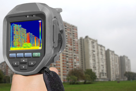 thermal: Recording Heat Loss at the Residential Building With Infrared Thermal Camera