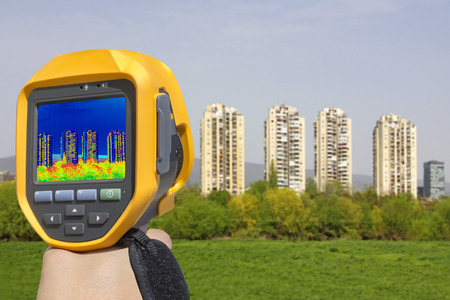 heat loss: Recording Heat Loss at the Residential Building With Infrared Thermal Camera