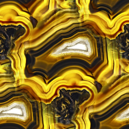 Agate Crystal cross section as seamless background Stock Photo