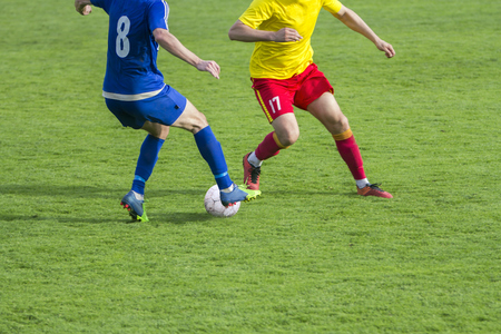 Football Soccer game Duel Drill Dribbling