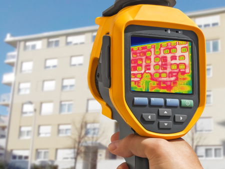 Detecting Heat Loss Outside building Using Thermal Camera