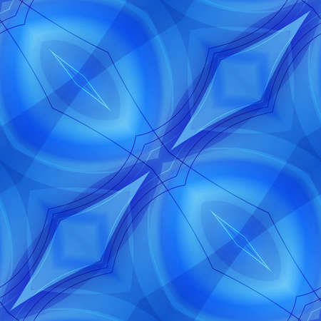 Blue abstract seamless background Stockfoto