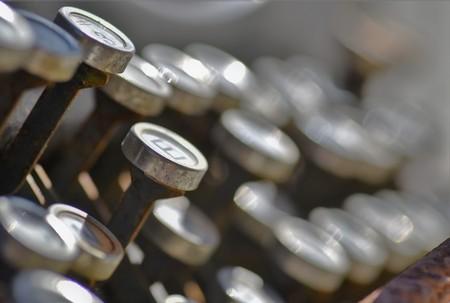 Close up keys of old typewriter Banque d'images - 120853344