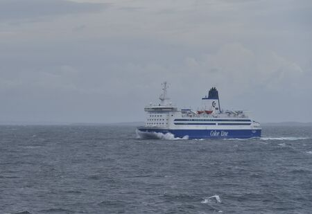 Ferry between Norway and Sweden is a common form to travel