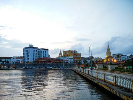City of Cartagena in Antioquia, Colombia