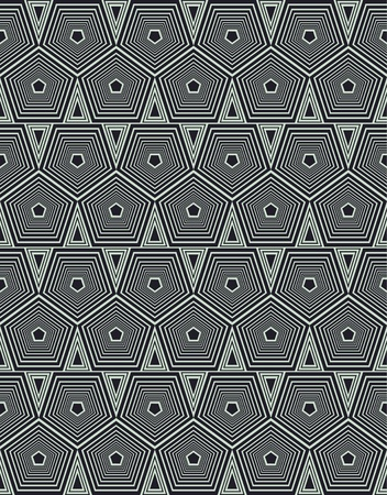 geometrical background with hexagons Stock Vector - 10723267