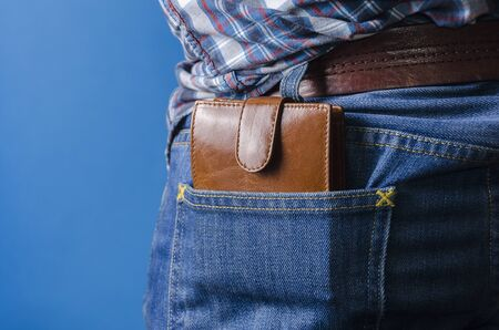 resourcefulness: wallet in his pants pocket