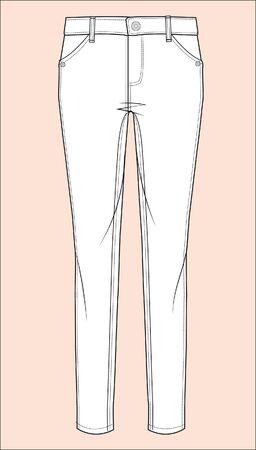 Leggings, Strumpfhosen, Elasthan, Gummizug, Vektor