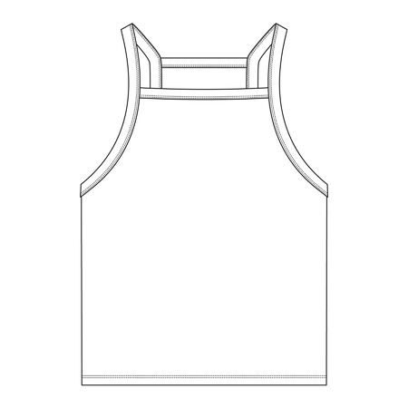Apparel Templates, vector image, womens top