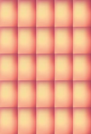 Vertical Pink and Peach Colored Abstract Rectangular Pattern Background, Illustration. Can be used for Decoration
