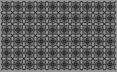 Artistic Pattern Design on Grey Background. Vintage Indian Mandala Design. Background, template, web design, frame, business report.