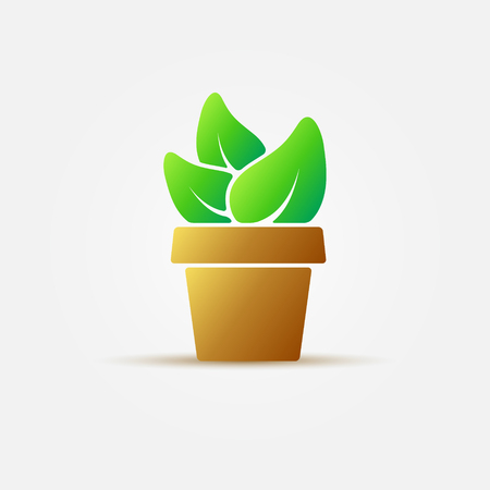 houseplant: Bright houseplant icon