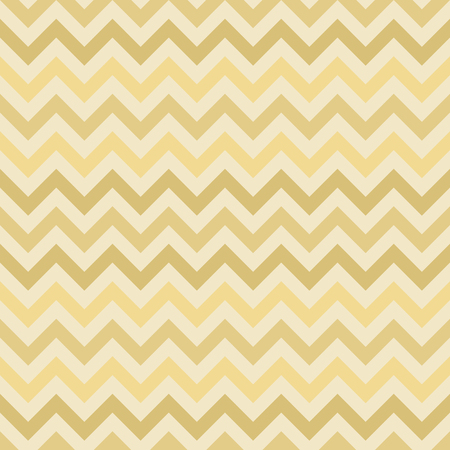 Retro gold vector zigzag chevron pattern - seamless texture Vector