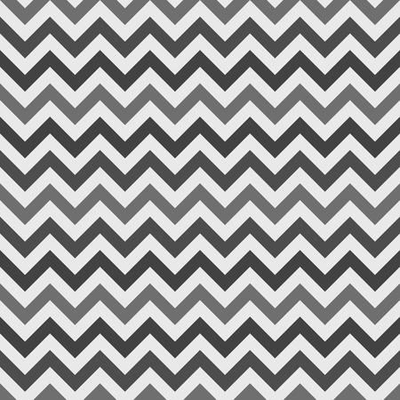 Zig zag seamless pattern - vector retro monochrome fabric texture or chevron background