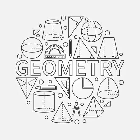 Geometry round symbol Imagens - 53266154
