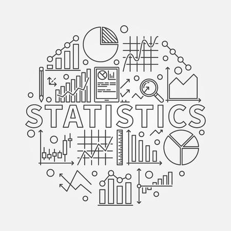 soumis: Statistiques sujet illustration