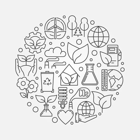Environmental protection illustration