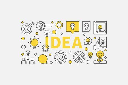 Idea concept illustration