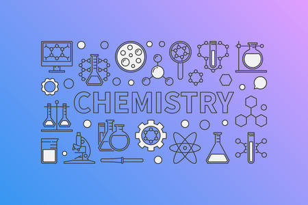 Chemistry creative background