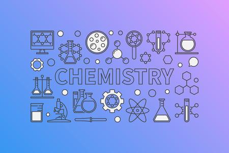 Chemistry creative background