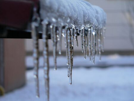 icicles - winter & frost