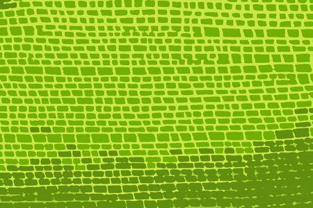 brickwork: green brickwork texture for use on multiple designs (vector eps format)