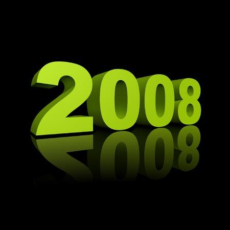 year 2008 - background