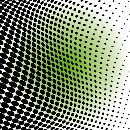 black-green abstract dotted background Vector