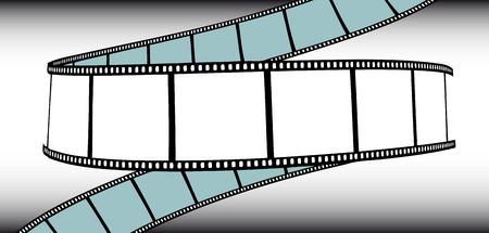 esporre: vettore filmato  foto film - illustrazione a gradiente di sfondo