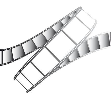 esporre: vettore filmato  foto film - illustrazione isolati su bianco