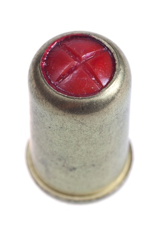 cs: gaspistol ammo isolated on a white background