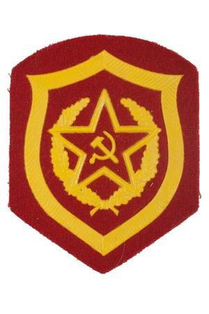 infantry: soviet army mechanized infantry badge isolated