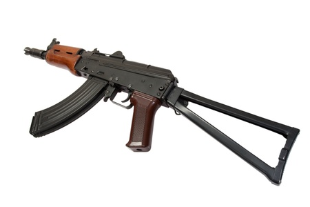kalashnikov ak spetsnaz isolated on a white background Stock Photo - 19950600