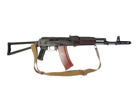 kalashnikov aks-74 para isolated on a white background photo