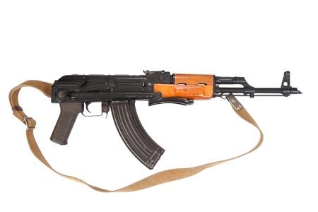 airborn: Kalashnikov airborn version assault rifle on white
