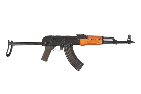 Kalashnikov AKM isolated on white
