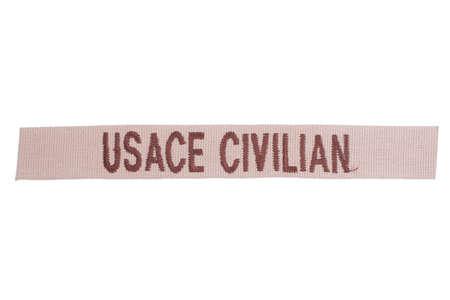 civilian: usace civilian uniform badge