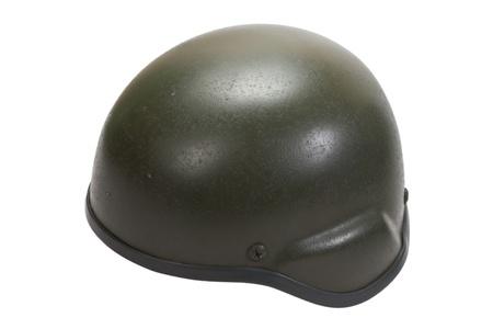 kevlar: kevlar helmet isolated on white