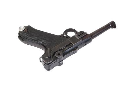 luger: Luger - Parabellum handgun isolated Stock Photo