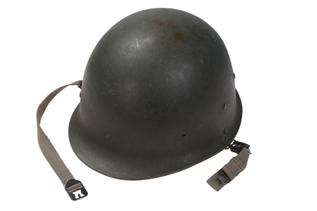 US military helmet  Stock Photo
